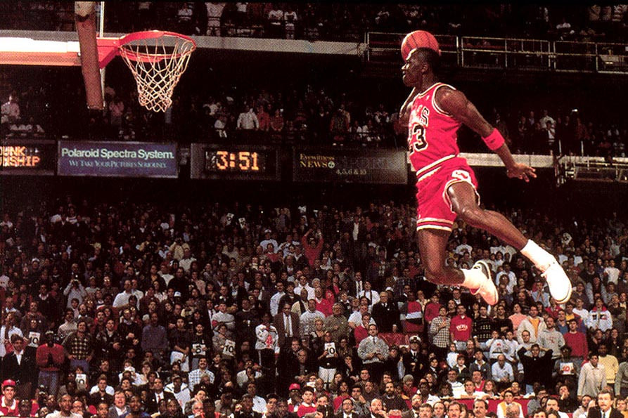 Jordan Jumping and Dunking